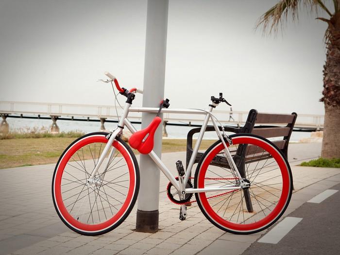 Seatylock – когда седло становится замком для велосипеда