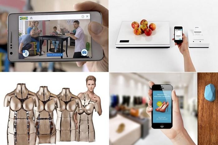 Современные технологии для шоппинга