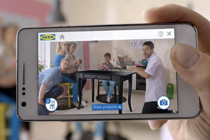Мобильное приложение от IKEA