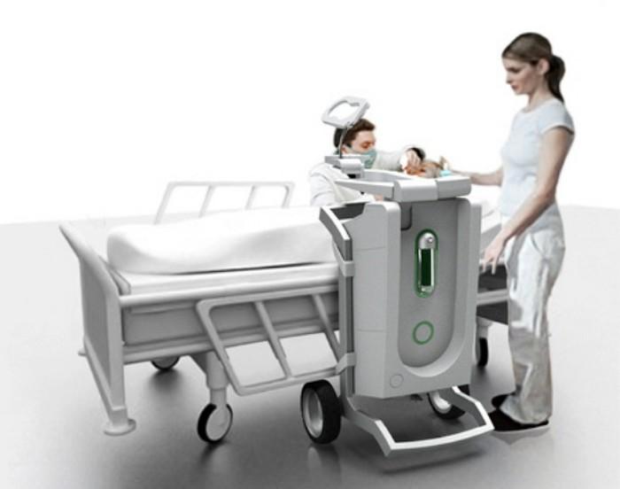 Dentris – мобильная бор-машина для визитов к старикам и инвалидам