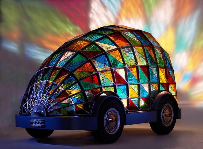 Беспилотный автомобиль для сна по дороге на работу