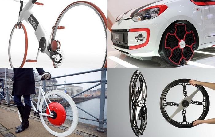 Современные технологичные варианты колеса