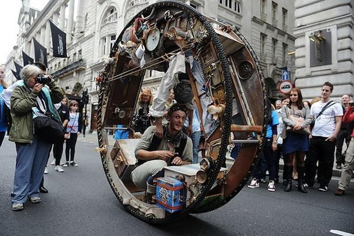 The Wheel House – дом-колесо для артистов цирка