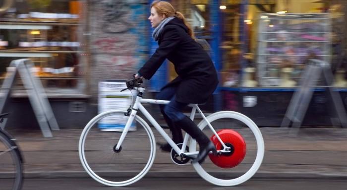 Copenhagen Wheel – колесо со встроенным мотором