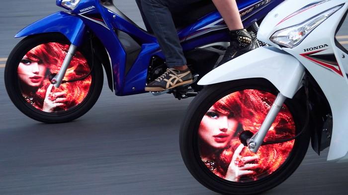 Wheelies – колесо со встроенным монитором