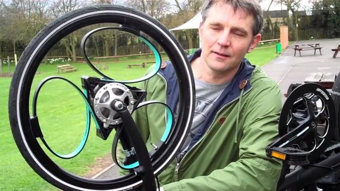 ShockWheel – колесо для езды по ступенькам