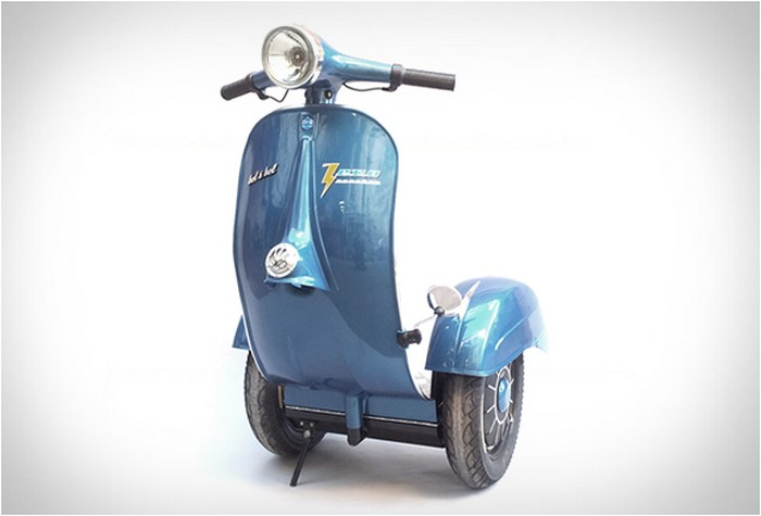 Zero Scooter – легендарный мотороллер Vespa в стиле Segway