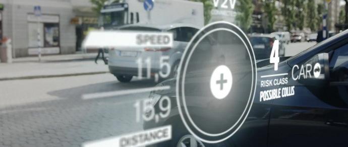 Круговая система наблюдения Volvo