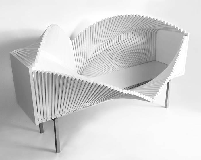 Оригинальный комод Wave Cabinet.