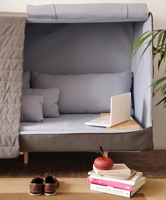 Уютная мебель для отдыха от Goula Figuera.