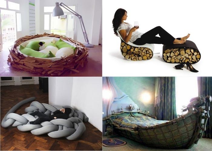 Самая креативная мебель для отдыха.