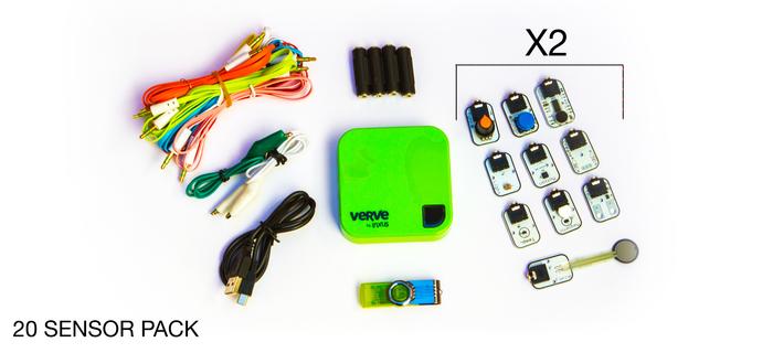 20 Sensor pack