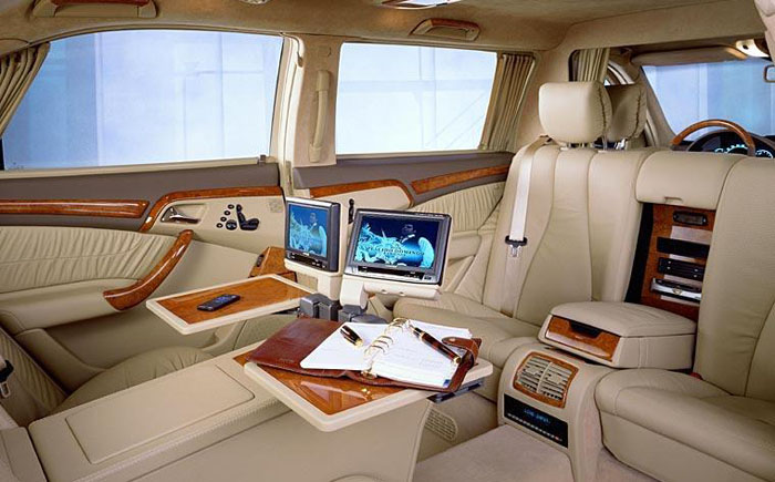 Лимузин Mercedes-Benz S-600 Pullman