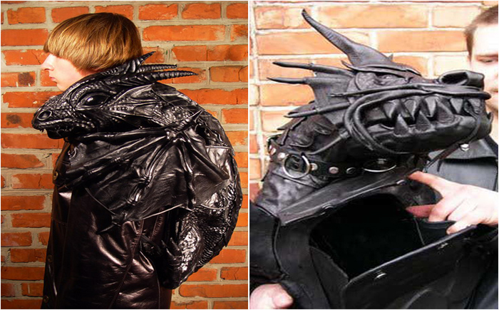 Рюкзак-дракон