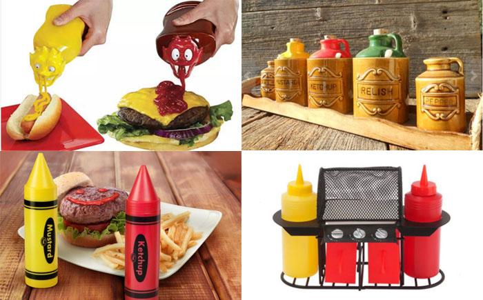 10 самых необычных наборов для кетчупа и горчицы