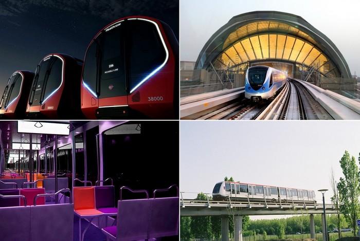 Лучшие в мире поезда метрополитена