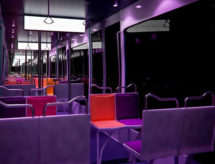Metronomie – стильные поезда метро от Ива Ломбардье (Yves Lombardet)