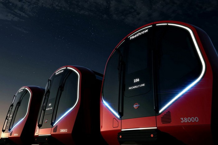 Беспилотные поезда для Лондонского метро от Priestmangoode и TFL