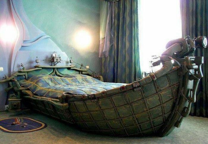 Кровать для путешествий в мир сновидений.