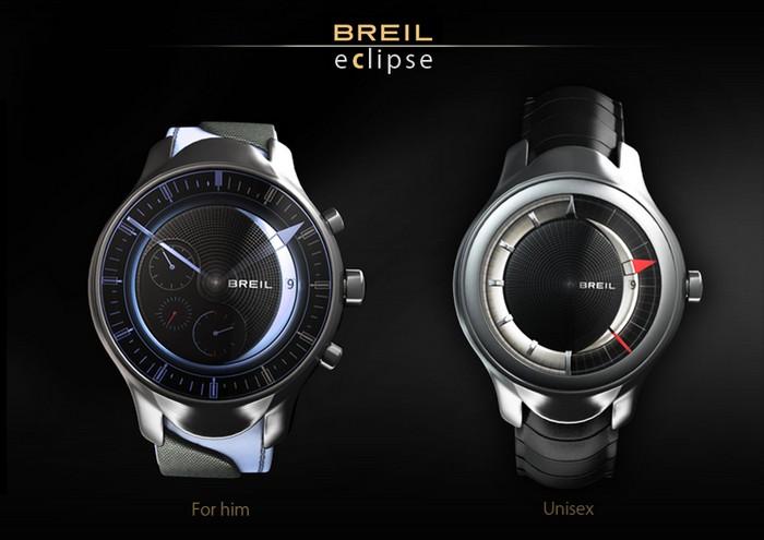 Breil Eclipse – затмение на циферблате часов