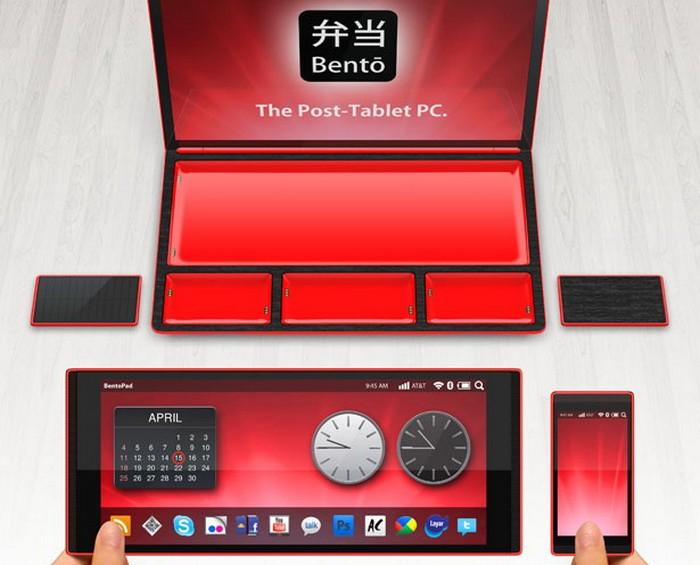 Bento – модульный ноутбук для максмалистов