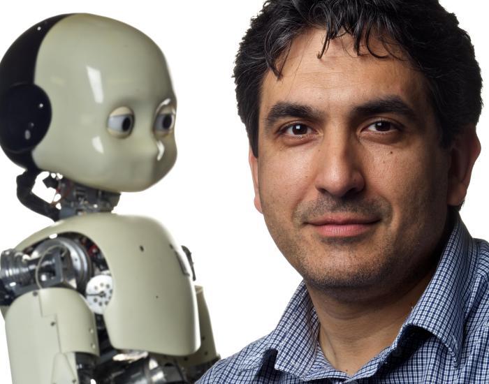 Джорджио Метта и робот iCub