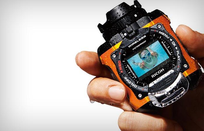 Ricoh WG-M1 - экшн-камера для путешественников-экстремалов.