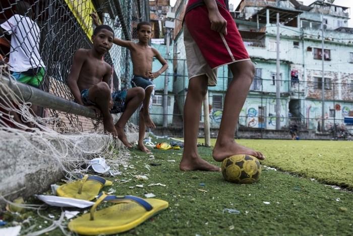 Футбольный стадион в Рио-де-Жайнеро, который является также электростанцией