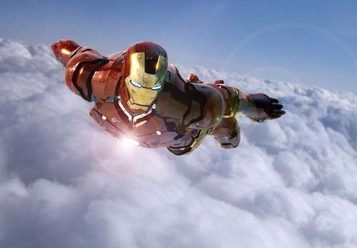 Железный Человек в полете
