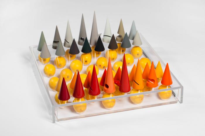 Оригинальные дизайнерские шахматы от XYZ Integrated Architecture.