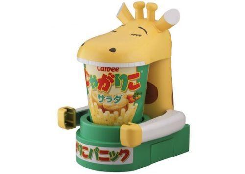 Игрушка для картофеля-фри и чипсов Calbee Jagarico Panic