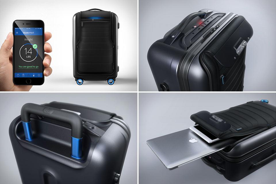 Bluesmart: чемодан тоже может быть умным