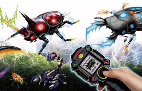 Игрушка для сканирования насекомых Denchu Troope