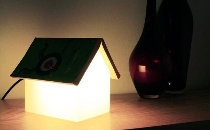 Лампа «Подставка для книги»
