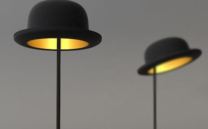 Настольная лампа «Шляпа»