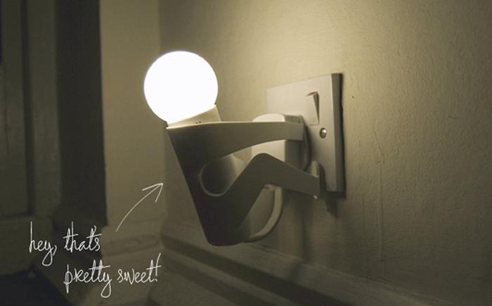 Забавный светильник