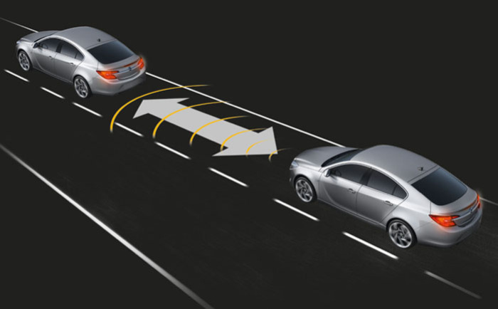 Адаптивное устройство автоматического поддержания скорости движения