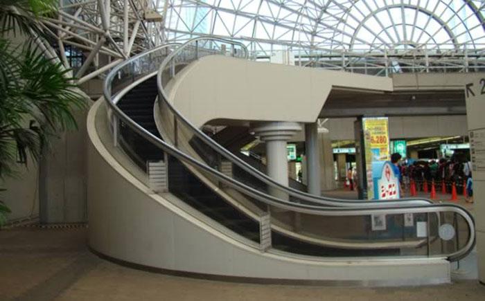 Спиральный эскалатор