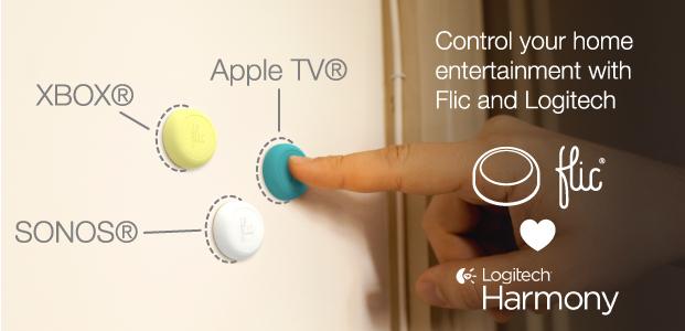 Использование кнопки Flic
