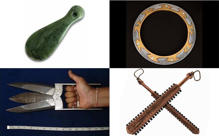 10 самых необычных видов древнего оружия