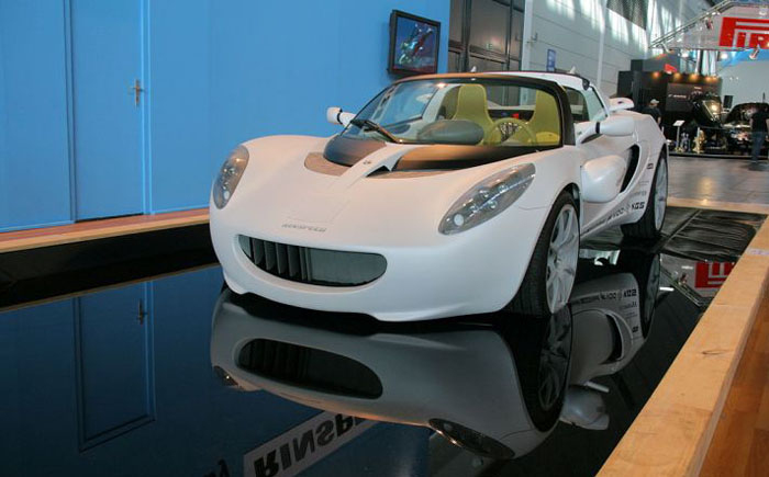 Автомобиль-амфибия Rinspeed Squba