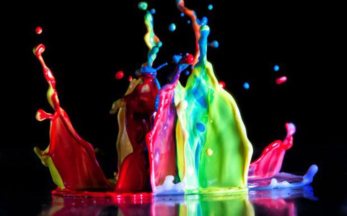 Краска, которая способна менять цвет