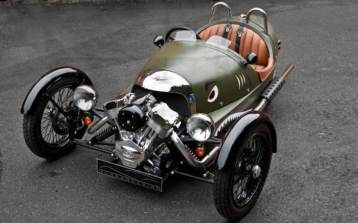 Трехколесный автомобиль Morgan