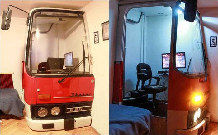 Автобус-домашний офис