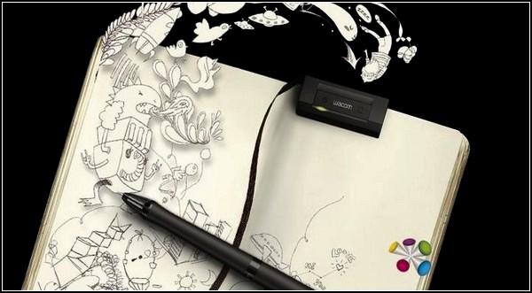 Wacom Inkling, цифровое перо для художников и дизайнеров