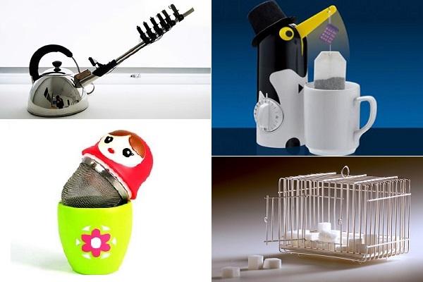Забавные и странные 'чайные' аксессуары от современных дизайнеров