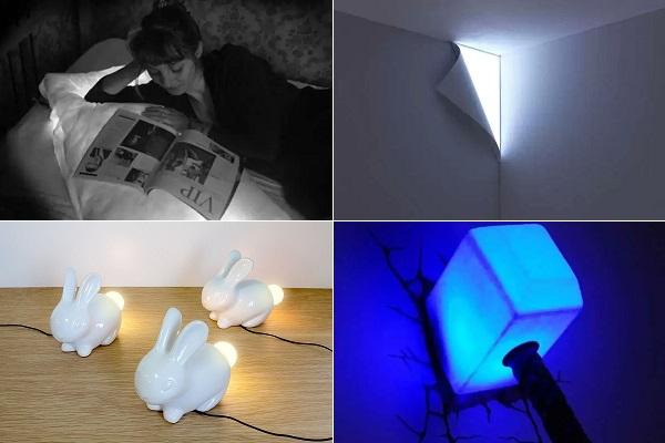 Оригинальные лампы-ночники