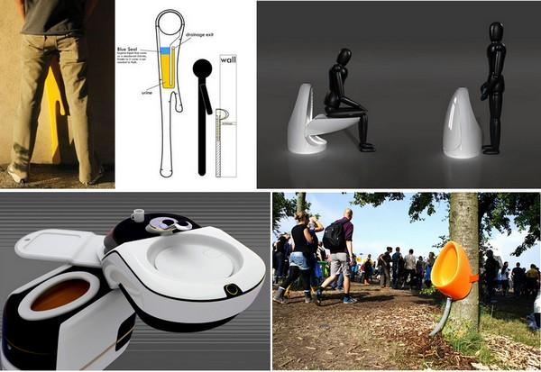 Обзор необычных современных туалетов и писсуаров