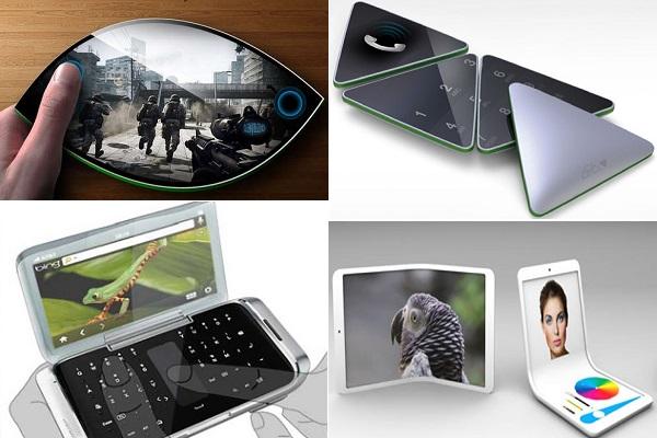 Концепты телефонов будущего