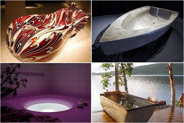 Оригинальные ванны: расслабляйтесь с удовольствием!